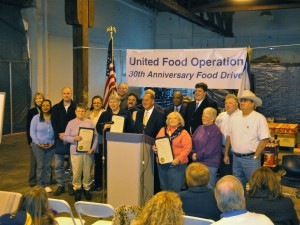 Governor Tomblin honors United Food Operation