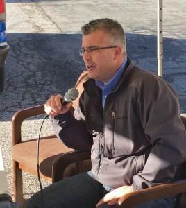 Todd Mullins, Kanawha Valley Labor Council