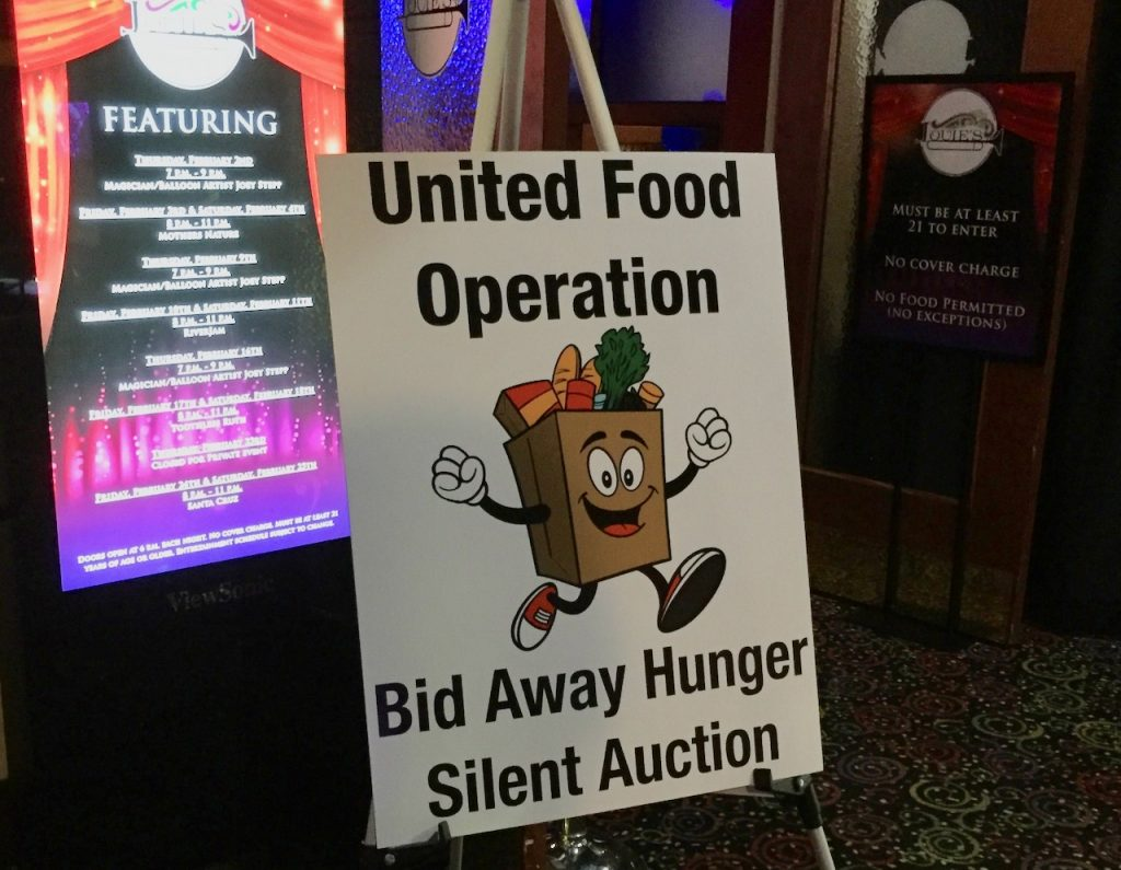 bid away hunger